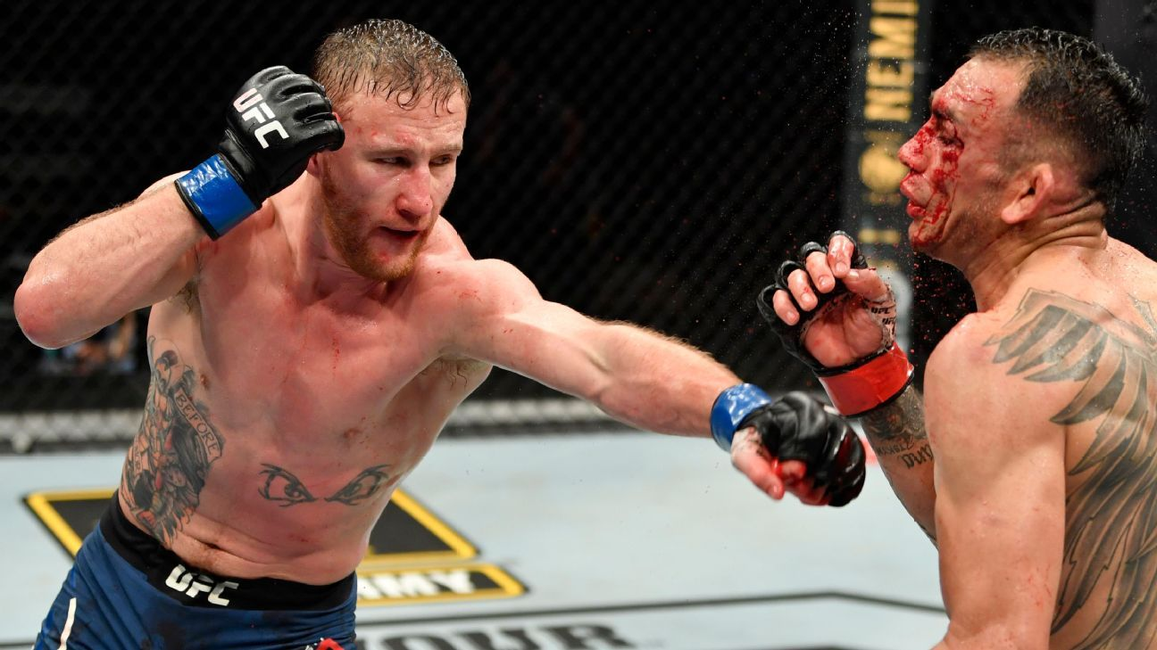 UFC 254 real or not: Justin Gaethje will take Khabib Nurmagomedov's title, then call out Conor McGregor