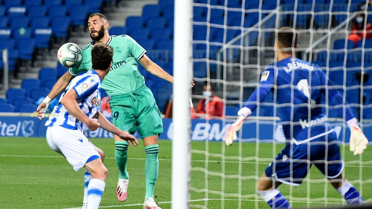 Real Sociedad Vs Real Madrid Match Report June 21 2020 World Today News