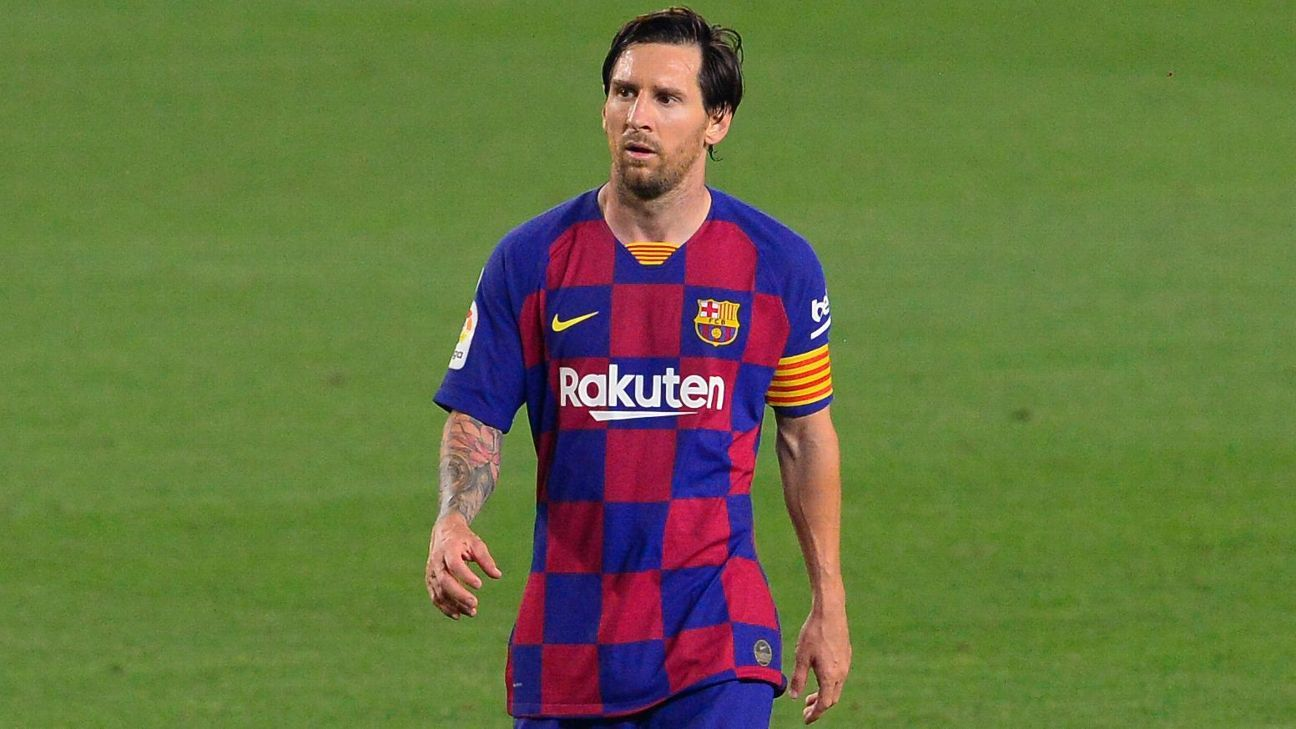 Photo of Report: Upset Messi looking to leave Barcelona