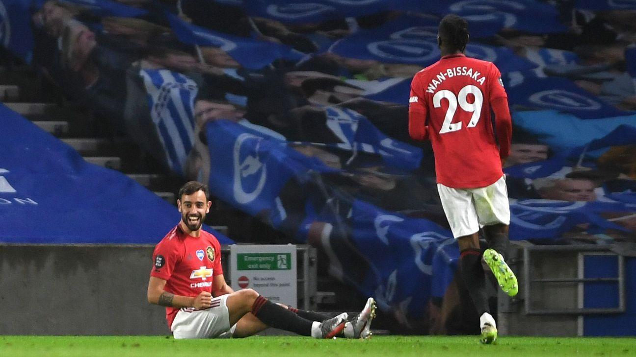 Premier League: Manchester United domina Brighton e entra na zona de classificação da Champions – ESPN.com.br