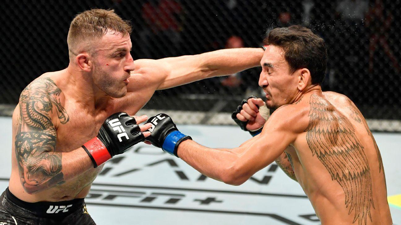 Alexander Volkanovski đánh bại Max Holloway để giữ danh hiệu hạng lông UFC tại UFC 251