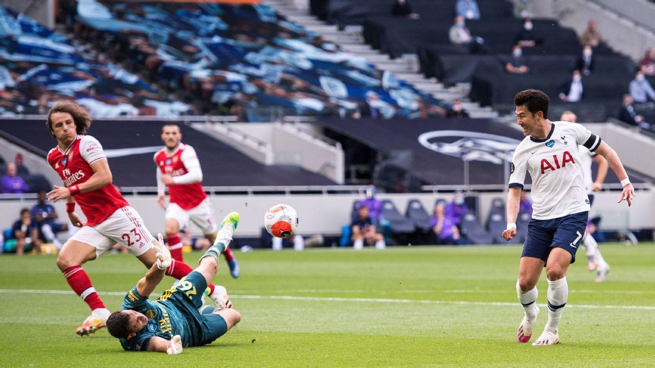 Arsenal, Spurs thất bại trong phòng ngự mới nhất cho thấy lý do tại sao cả hai câu lạc bộ ở bên ngoài nhìn vào các vị trí Champions League