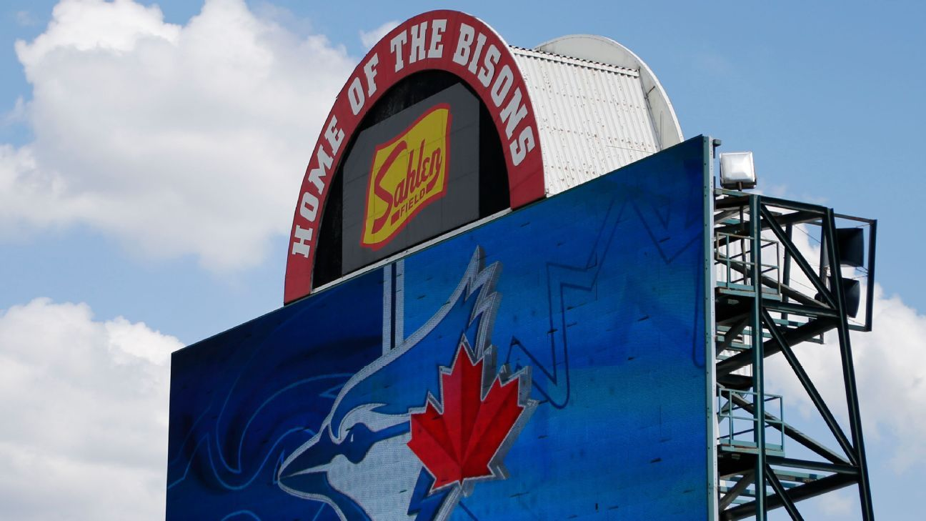 Report: Blue Jays to return to Buffalo in June