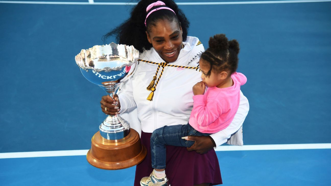 Serena Williams was playfully miffed that she didn't get to pose next to her daughter in matching outfits