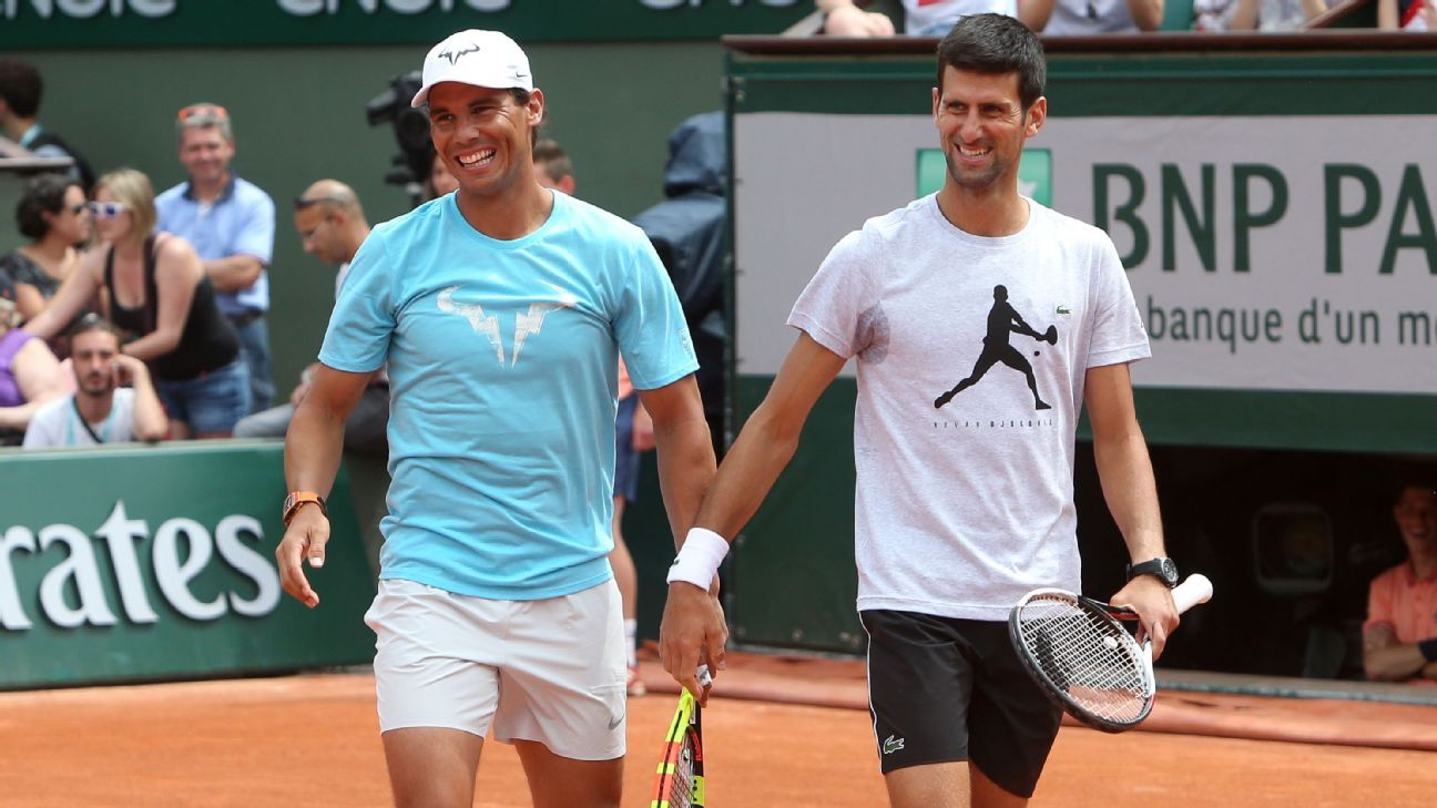 Djokovic vs. Nadal is the French Open men's final we need