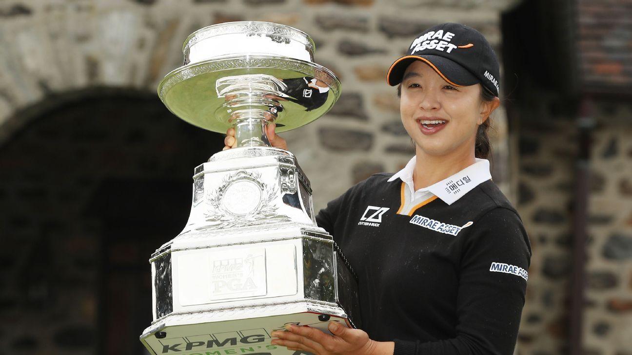 Sei Young Kim fires 63 to seal Women's PGA, 1st major win