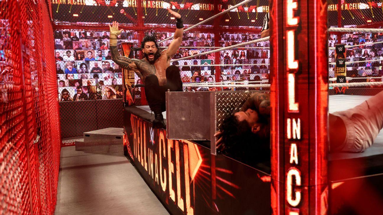 Sasha Banks becomes champ, Reigns makes Uso quit