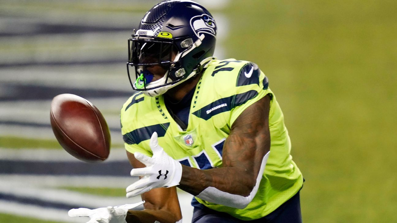 Russell Wilson creates time, finds DK Metcalf to put Seahawks ahead