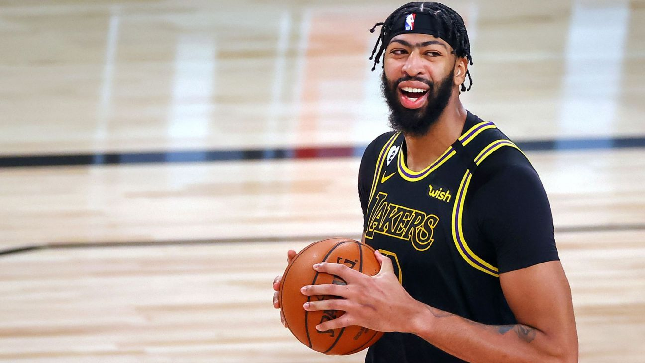 Anthony Davis finalizing five-year, $190 million maximum contract to stay with Los Angeles Lakers