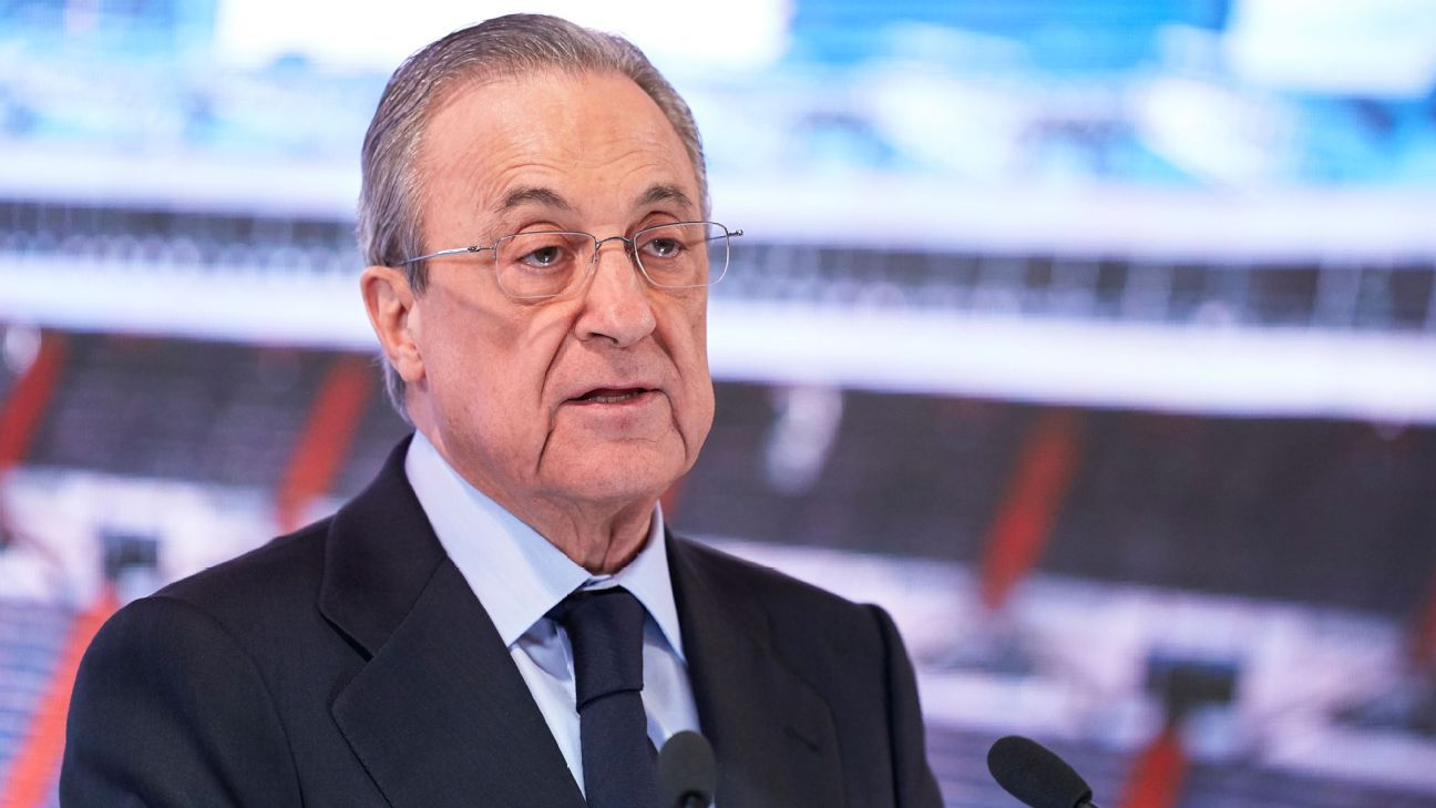 Perez: UCL would possibly not kick out Super League groups