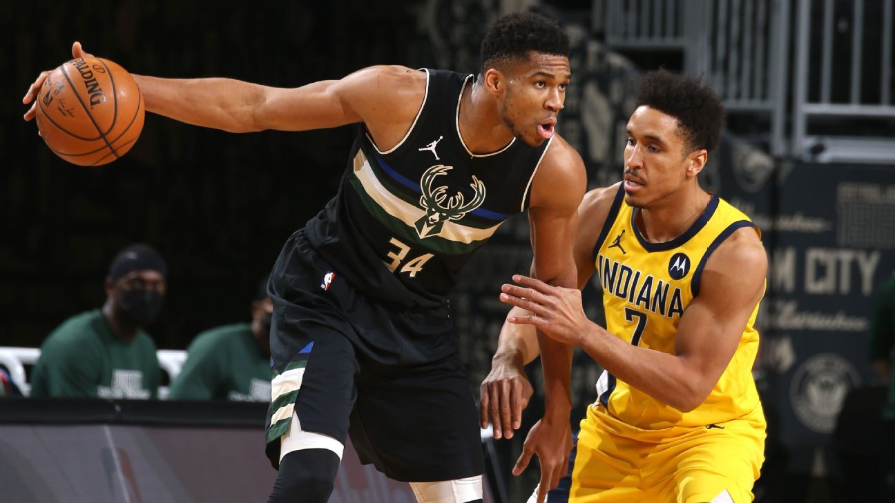 Giannis Antetokounmpo's gaming skills are featured in the latest triple-double for Milwaukee Bucks