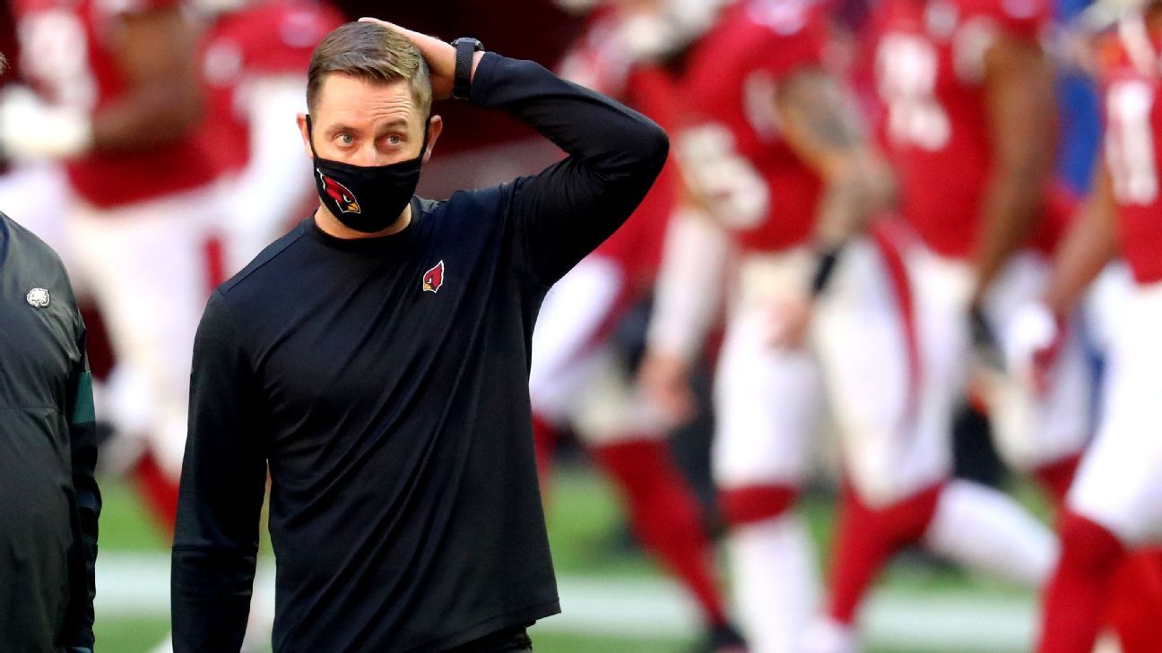 Kingsbury tests positive, to miss Browns game