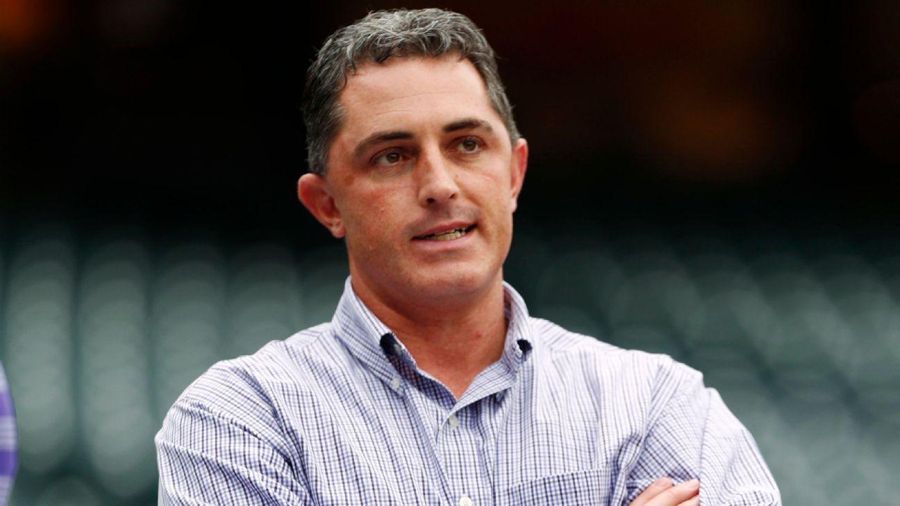 Embattled Bridich steps down as Rockies' GM