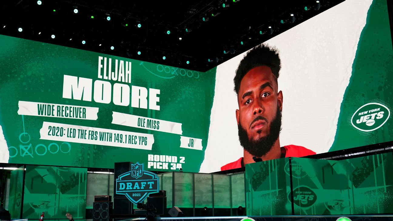 Scouting service: New York Jets score rare NFL draft trifecta with top picks