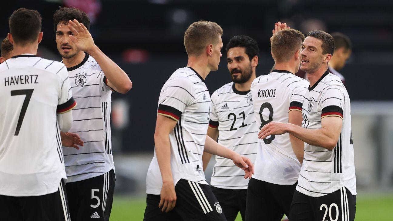 Germany vs. Latvia   Football Match Report   June 20, 20   ESPN ...