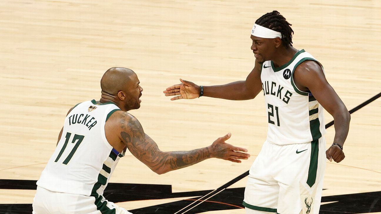One win away, Jrue Vacation and the Milwaukee Bucks are staying the course