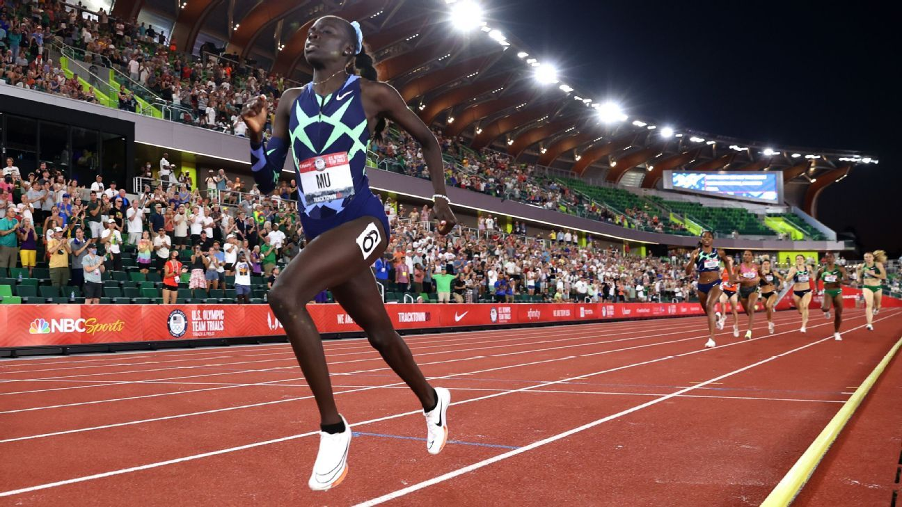 2021 Olympics-Eat or Eat, Coach Says.Athing Mu prepares to star in the 800 meters - Illinoisnewstoday.com