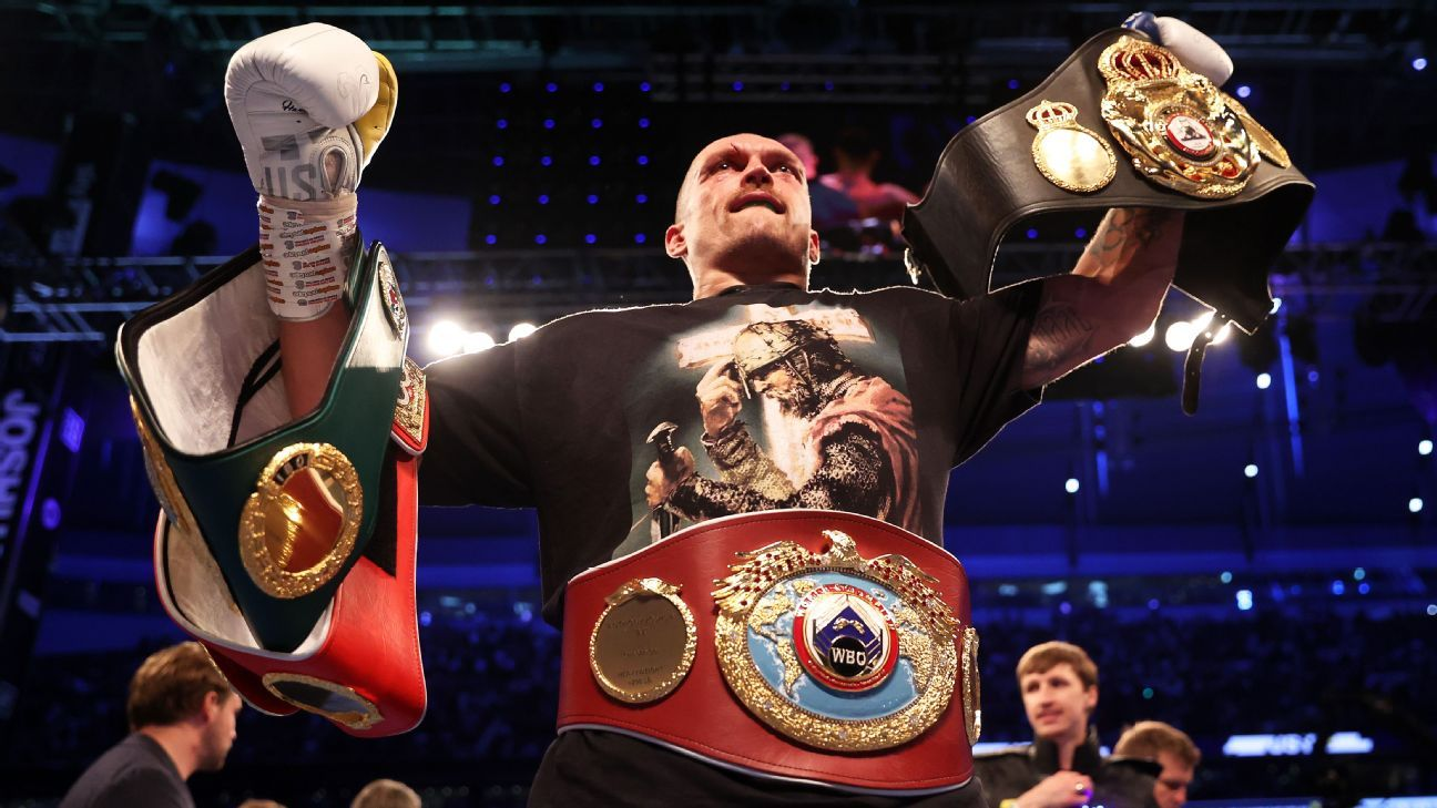 A new champion: Reactions to Oleksandr Usyk's victory against Anthony Joshua