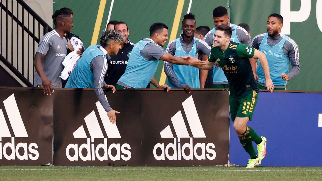 Portland Timbers vs. Inter Miami CF – Football Match Report – October 3, 2021 – ESPN
