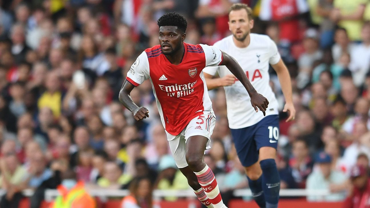 Thomas Partey is Arsenal's pivotal player as Mikel Arteta continues rebuild