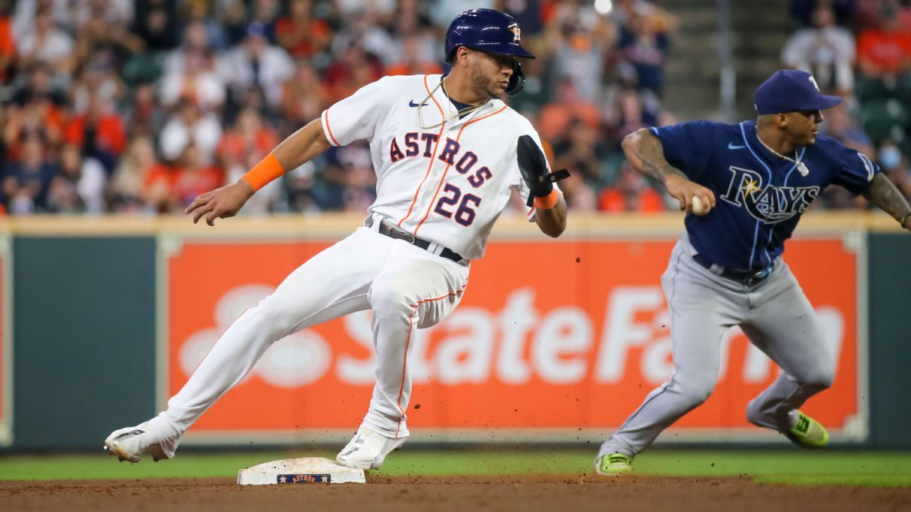 Astros start rookie Siri in center field for Game 3