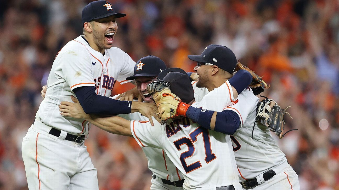 Astros not motivated by 'narratives,' just winning