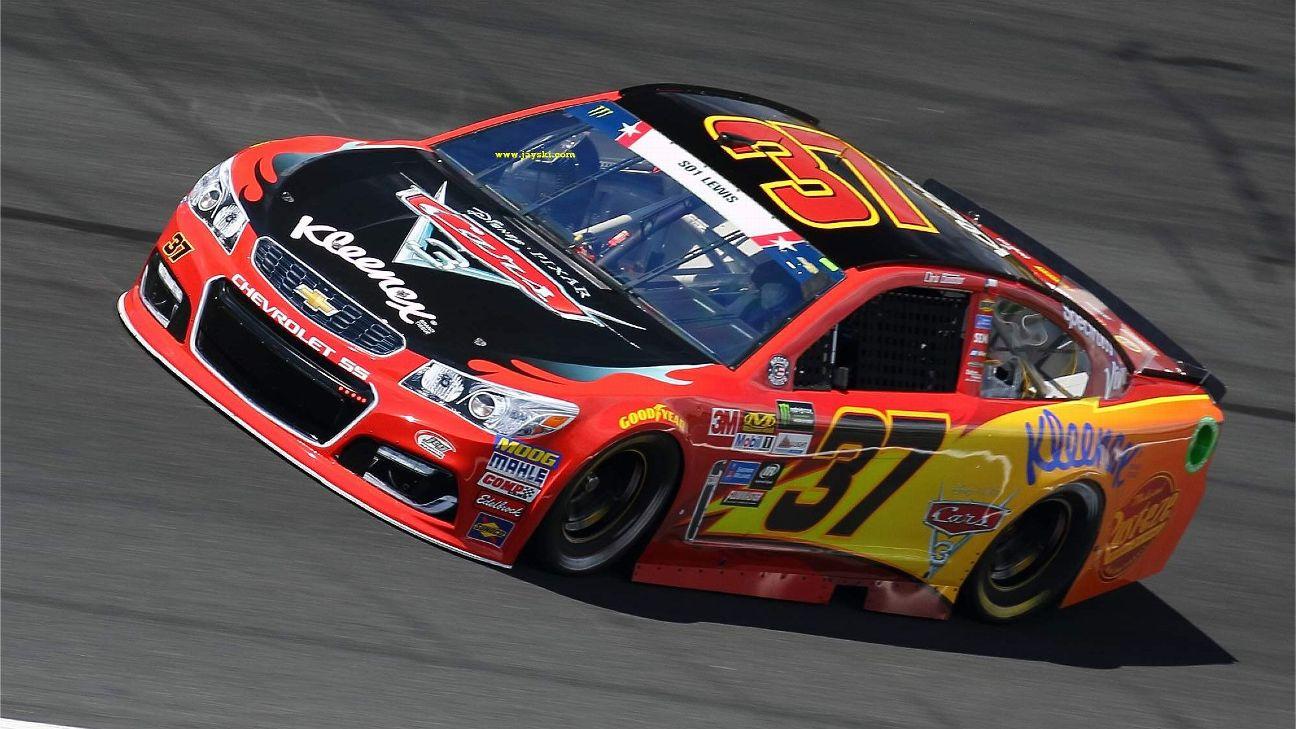 2017 NASCAR Cup Series Paint Schemes - Team #37 JTG ...